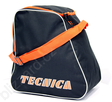 TAŠKA NA LYŽÁKY TECNICA SKIBOOT BAG, BLACK/ORANGE