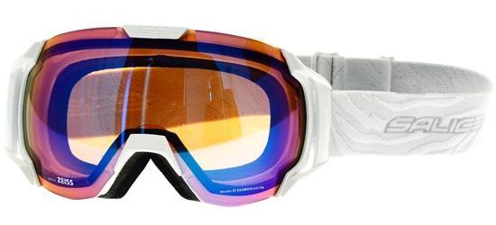 lyžařské brýle SALICE 619 SONAR white/zebra/white