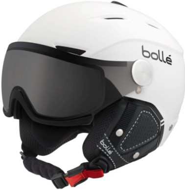 přilba Bollé Backline Visor Premium - Modulator, soft white/black, 18/19