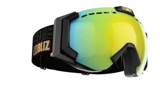 brýle Bliz Carver OTG - 32440-19 black frame orange gold multi lens